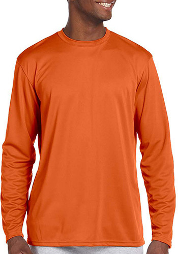 Harriton Athletic Long-Sleeve Shirts | M320L