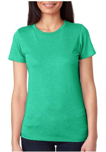 Next Level Ladies Tri-Blend Crew T Shirts | NL6710