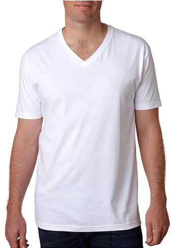 Men's Premium Fitted Short Sleeve V Neck Tees
