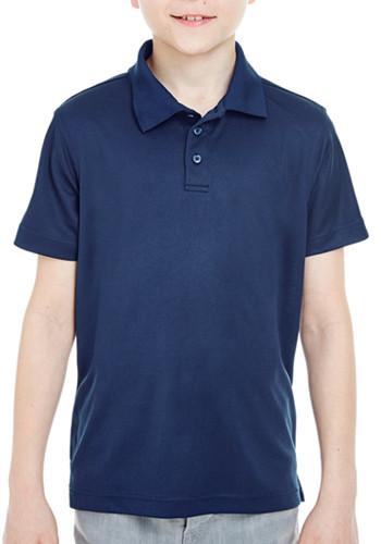 UltraClub Youth Cool & Dry Mesh Polo Shirts | 8210Y