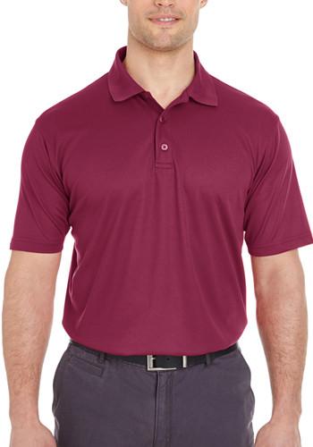 UltraClub Men's Cool & Dry Mesh Piqué Polo Shirts | 8210