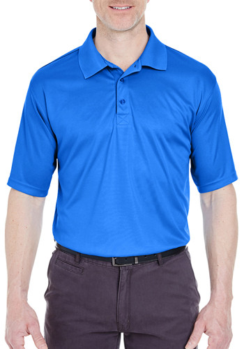 UltraClub Men's Snag-Resistant Polo Shirts | 8425