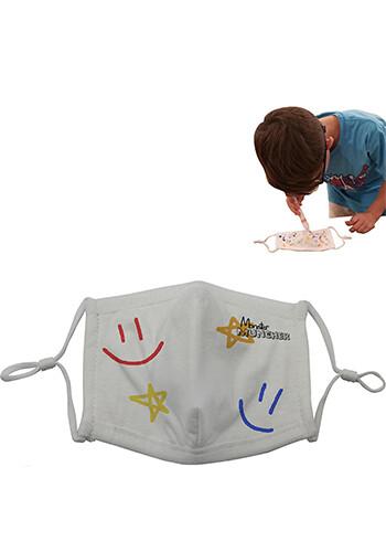 Bulk 4 Ply Adjustable Kids Masks