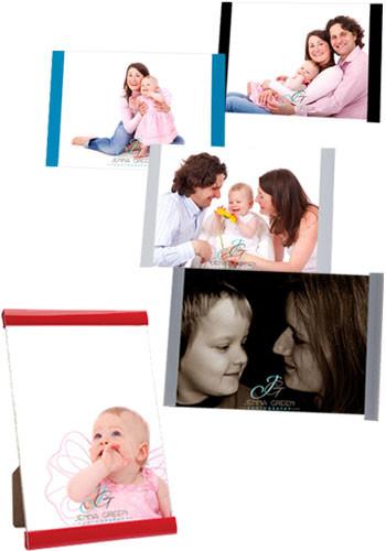 Personalized 4W x 6H inch Three Piece Clip Frames