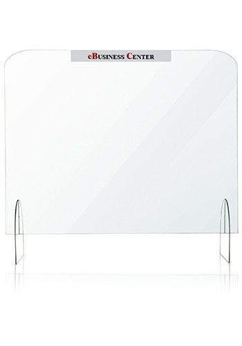 Personalized 40 In x 32 In Protective Acrylic Counter Barriers