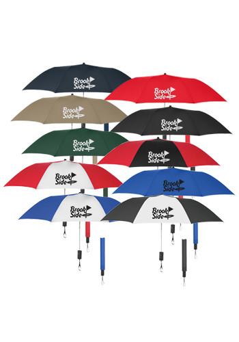Customized 44-in. Auto-Open Folding Umbrellas