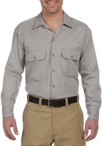 Dickies Adult Long-Sleeve Work Shirts | 574