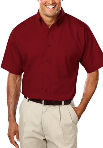Blue Generation Men's Short Sleeve Poplin Shirts   BGEN7266S