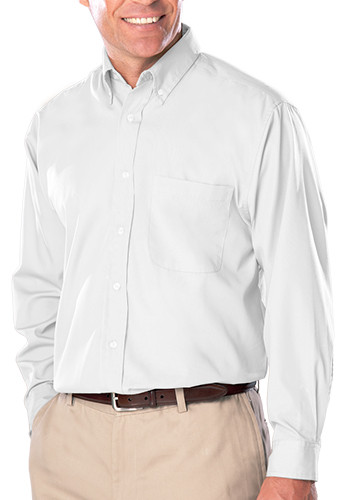 Blue Generation Men's Long Sleeve Poplin Dress Shirts | BGEN7266