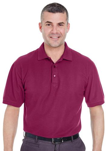 UltraClub Men's Whisper Piqué Polo Shirts | 8540