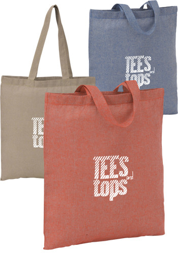 Personalized Recycled Cotton Twill Totes