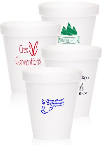Promotional 6 oz. Styrofoam Drinkwares