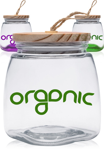 64 oz Glass Candy Jars