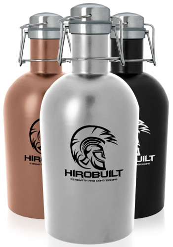 Customized 64 oz. Stainless Steel Growlers