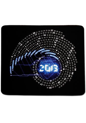 Orbit Rectangular Calendar Mouse Pads | MPCAL4