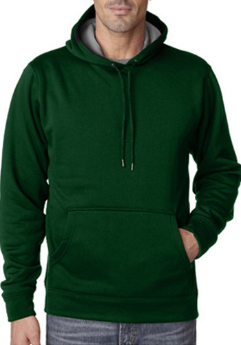 Ultraclub Adult Cool & Dry Sport Hooded Pullovers   8441