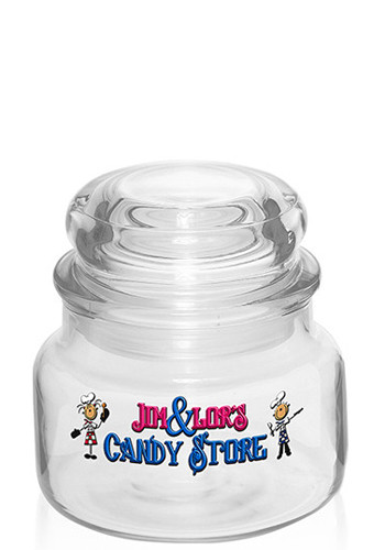 Customized 8 oz. ARC Colonial Candy Jars