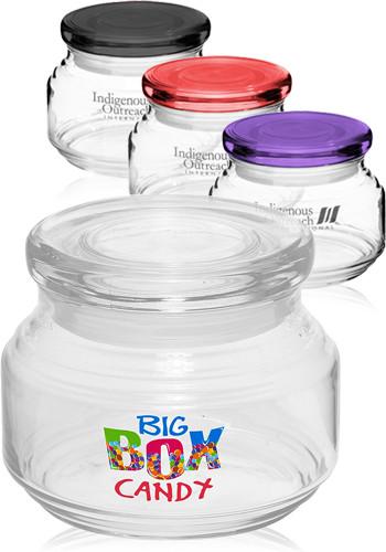 8 oz. ARC Flat Lid Candy Jars | 23543FL