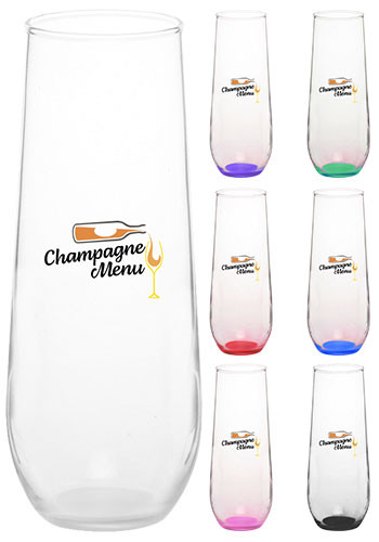 8 oz. Libbey Stemless Champagne Glasses | 228