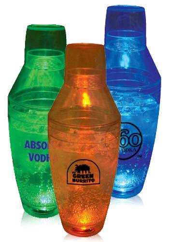 8 oz. Light Up Plastic Cocktail Shakers | HWBSK8