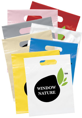 Die Cut Handle Plastic Bags | BM19FS912