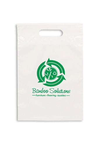 Personalized Eco Die Cut Handle Plastic Bags