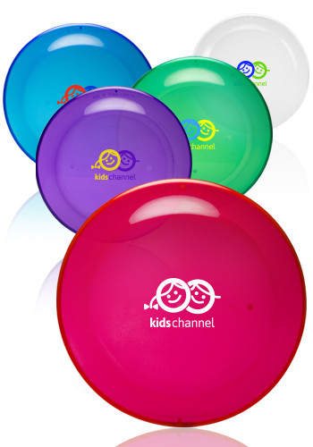 Customized 9.25 in. Translucent Color Flying Discs