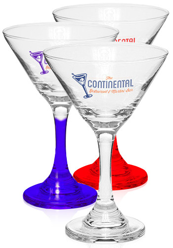 Custom 9.25 oz. Martini Glasses