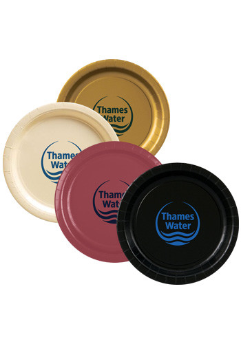 Promotional 9 Inch Colored Paper Plates