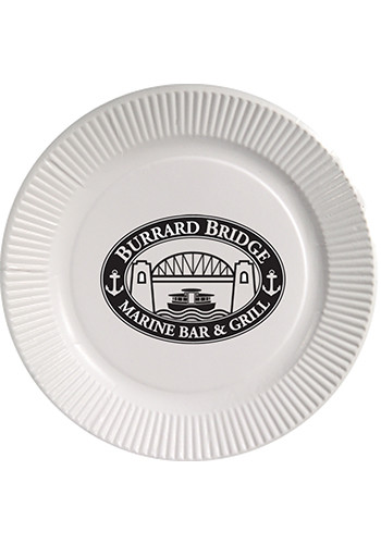 Promotional 9 Inch White Paper Plates