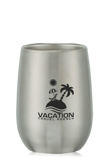 Stainless Steel Stemless Wine Glasses