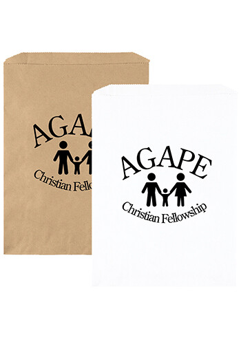 Personalized 9 x 12 Inch Merchandise Paper Mailers