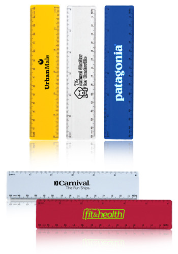 Customized Standard 6 in. Rulers