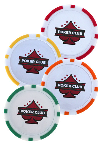Personalized ABS Plastic Poker Chip Ball Markers