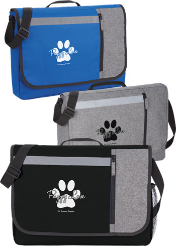 Personalized Accent 15 Computer Messenger Bags
