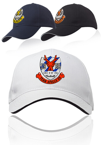 Customized Ace 6-Panel Structured Baseball Caps