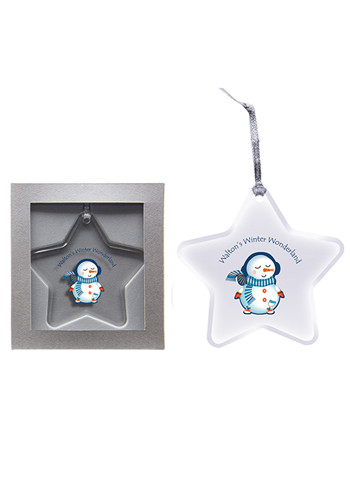 Custom Star Acrylic Ornaments
