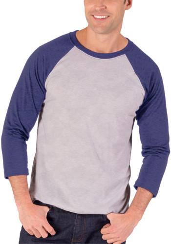 Quarter Sleeve Baseball Crew Neck Shirts