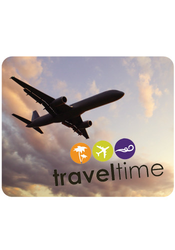 Full Color Airplane Travel Mouse Pads | MPD02