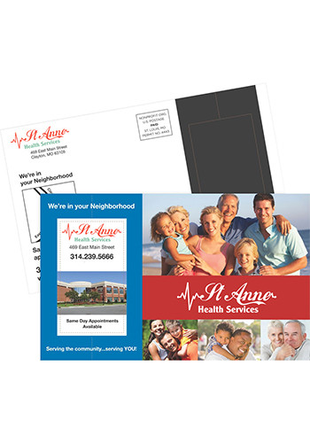 Customized Aligator Perforated Postcard Magnets