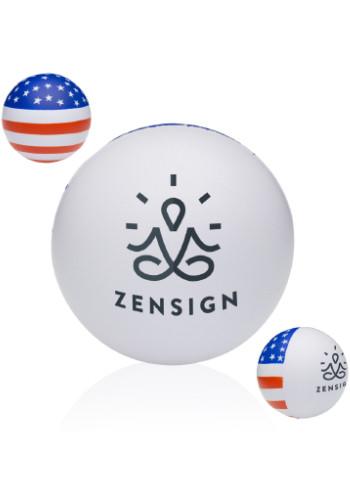 Custom American Flag Stress Balls