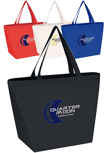 Customized Antimicrobial Non-Woven Shopper Tote Bags
