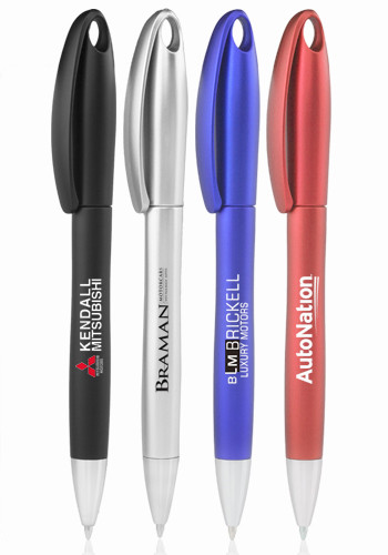 Twist Action Plastic Ball Point Pens