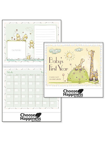 Customized Baby's First Year by Robin Roderick Triumph Calendars
