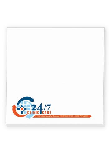 Custom BIC Ahesive Notepads 25 Sheets