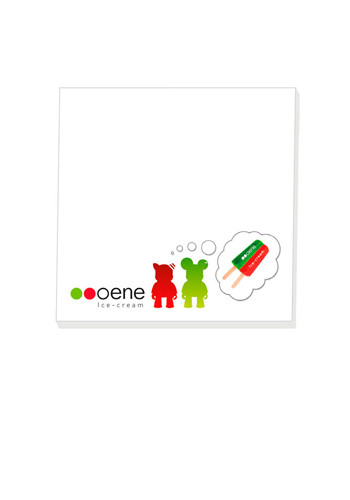 Personalized BIC 100 Sheet Adhesive Notepads