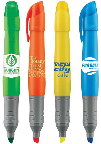 BIC® Grip XL Highlighters