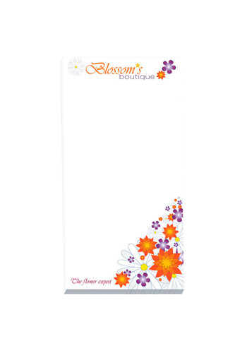Promotional ECO BIC Non-Adhesive Scratch Pads 25 Sheets
