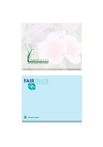 Wholesale 50 Sheets ECO BIC Lined Adhesive Notepads
