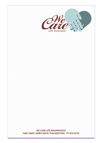 Customized BIC Ruled Adhesive Notepads 25 Sheets